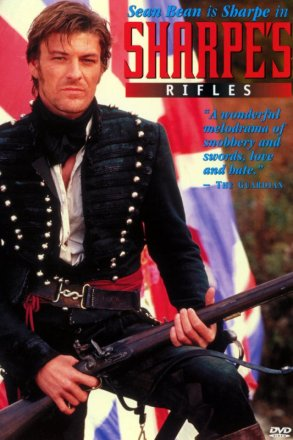 Capa do filme: As Aventuras de Sharpe 1 - Os Fuzileiros de Sharpe