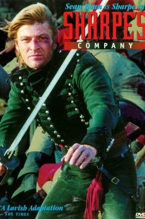 Capa do filme: As Aventuras de Sharpe 3 - A Companhia de Sharpe