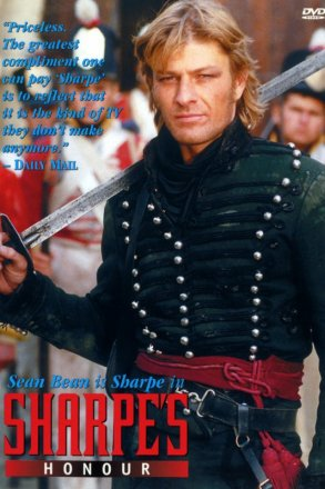 Capa do filme: As Aventuras de Sharpe 5 - A Honra de Sharpe