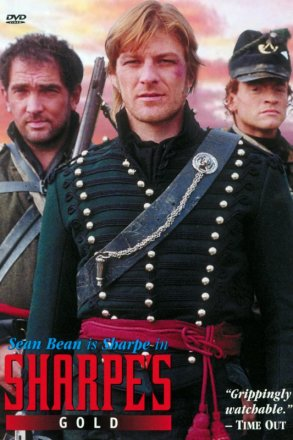 Capa do filme: As Aventuras de Sharpe 6 - O Ouro de Sharpe