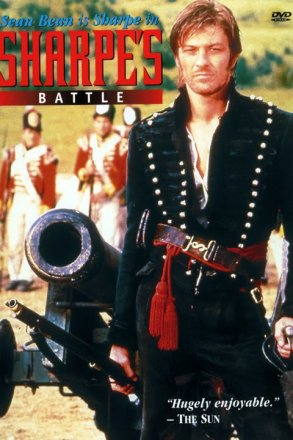 Capa do filme: As Aventuras de Sharpe 7 - A Batalha de Sharpe