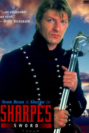 Capa do filme: As Aventuras de Sharpe 8 - A Espada de Sharpe