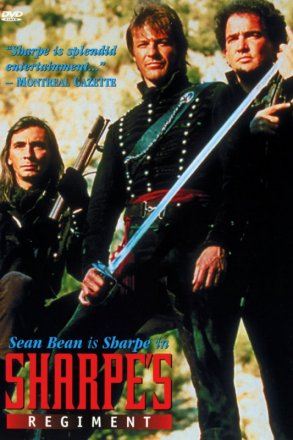 Capa do filme: As Aventuras de Sharpe 9 - O Regimento de Sharpe