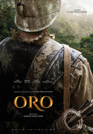 Capa do filme: Ouro