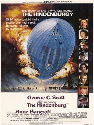 Capa do filme: O dirigível Hindenburg