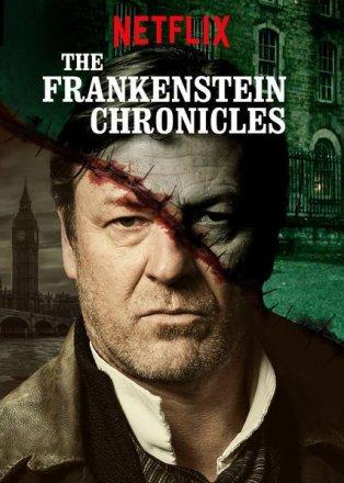 Capa do filme: As Crônicas de Frankenstein