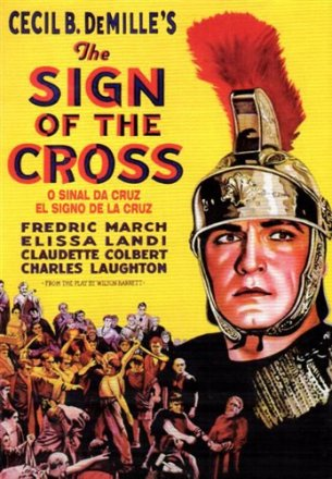 Capa do filme: O Sinal da Cruz