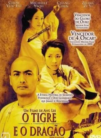 Capa do filme: O Tigre e o Dragão