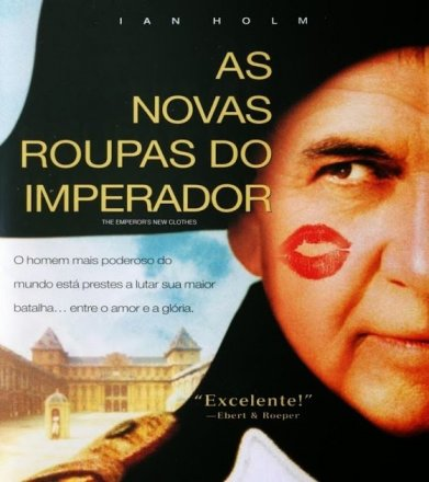 Capa do filme: As Novas Roupas do Imperador