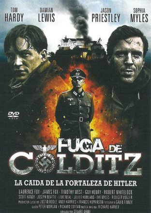 Capa do filme: Fuga de Colditz