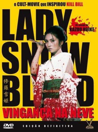 Capa do filme: Lady Snowblood: Vingança na Neve