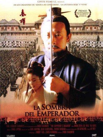 Capa do filme: A sombra do Imperador