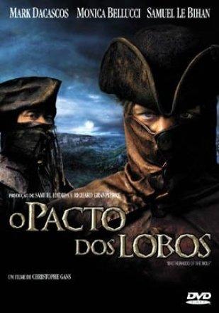 Capa do filme: O Pacto dos Lobos