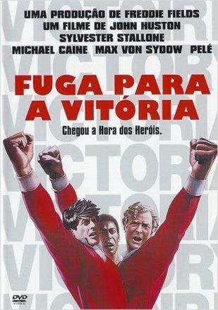 Capa do filme: Fuga para a vitória