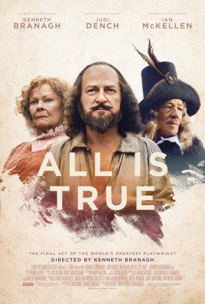Capa do filme All Is True (2018)