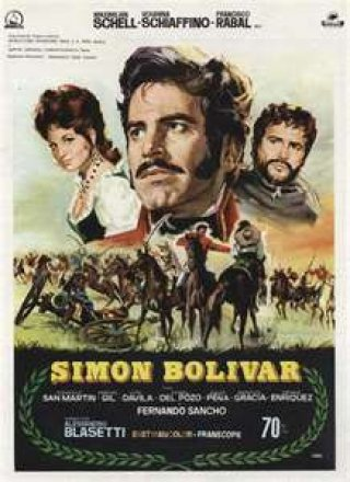 Capa do filme: Simon Bolívar
