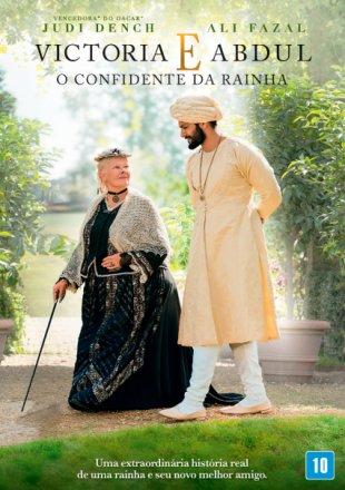 Capa do filme: Victoria e Abdul: O Confidente da Rainha