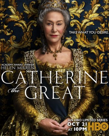 Capa do filme: Catarina a Grande