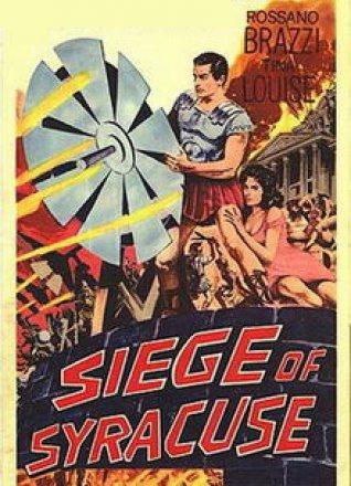 Capa do filme: O Cerco de Siracusa