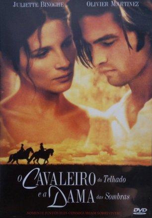 Capa do filme: O Cavaleiro do Telhado e a Dama das Sombras