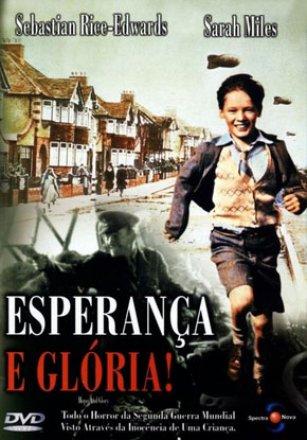 Capa do filme: Esperança e Glória