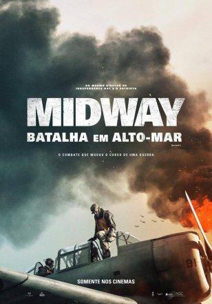 Capa do filme: Midway - Batalha em Alto-Mar