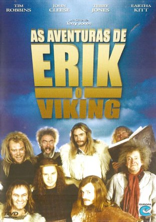 Capa do filme: As Aventuras de Erik, o Viking