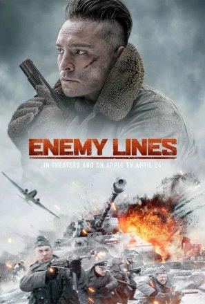 Capa do filme: Linhas inimigas