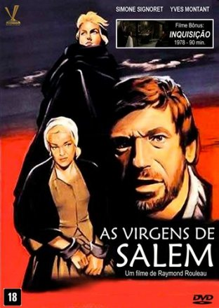 Capa do filme: As Virgens de Salem