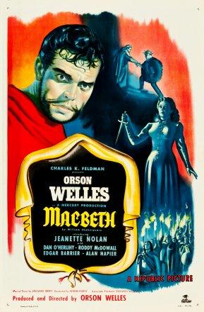 Capa do filme: Macbeth - Reinado de Sangue