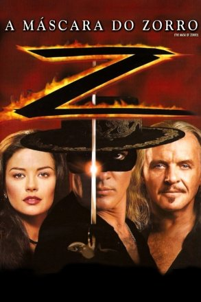Capa do filme: A Máscara do Zorro