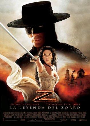 Capa do filme: A Lenda do Zorro
