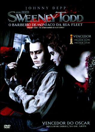 Capa do filme: Sweeney Todd, o Barbeiro Demoníaco da Rua Fleet