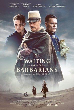Capa do filme: À Espera dos Bárbaros