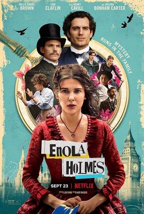 Capa do filme: Enola Holmes