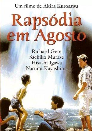 Capa do filme: Rapsódia em agosto