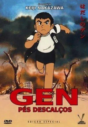 Capa do filme: Gen Pés Descalços