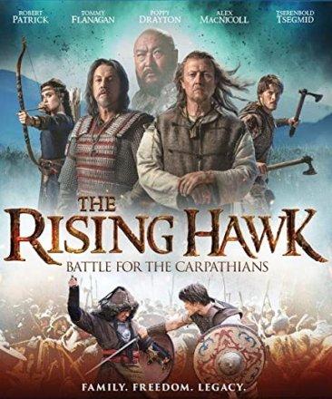 Capa do filme: The Rising Hawk