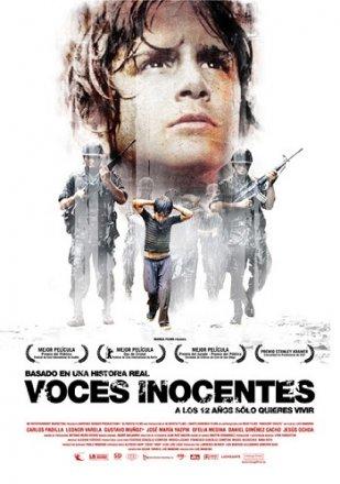Capa do filme: Vozes Inocentes