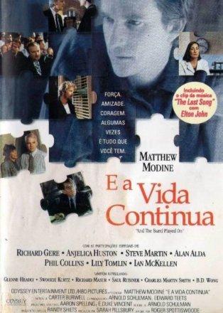 Capa do filme: E a Vida Continua