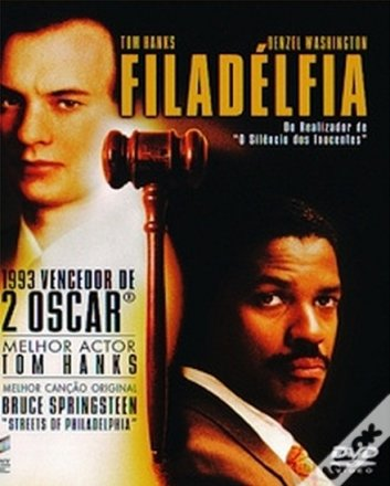 Capa do filme: Filadélfia