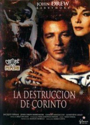Capa do filme: A Destruição de Corinto