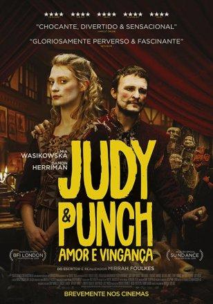 Capa do filme: Judy e Punch: Amor e Vingança