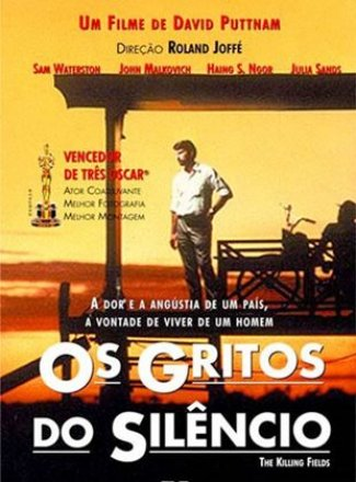 Capa do filme: Os Gritos do Silêncio