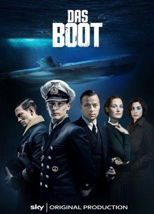 Capa do filme: Das Boot - O Barco Inferno no mar