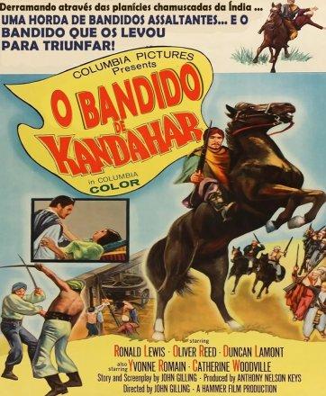 Capa do filme: O Bandido de Kandahar