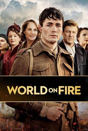 Capa do filme: Mundo em Chamas