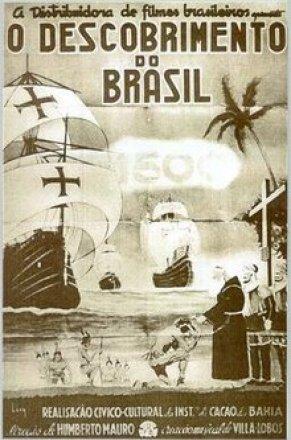 Capa do filme: O Descobrimento do Brasil