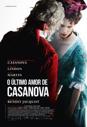 Capa do filme: O último amor de Casanova