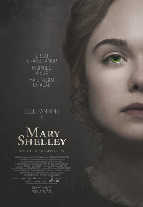 Capa do filme: Mary Shelley